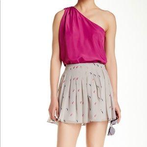 BCBG Chiffon Mini Skirt